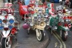 """Vespa and Lambretta: """"Must have"""" during the 50's-60's"""