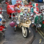 "Vespa and Lambretta: ""Must have"" during the 50's-60's"